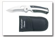 Maxam Stainless Steel Liner Lock Knife