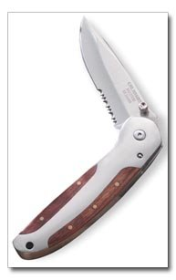 Maxam Liner Lock Knife with clip
