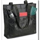 Embassy Italian Stone Design Genuine Leather Shopping And Travel Bag