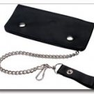 Embassy Solid Genuine Leather Wallet With Chain