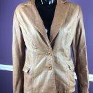 MAURIZIO TROIANO Jacket Large soft brown leather blazer women