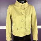J Crew Womens Chino Jacket Size 6 Classic Twill Career Casual Top