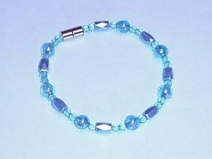 HEM21 - Magnetic Hematite - Bracelet or Anklet - 8 In