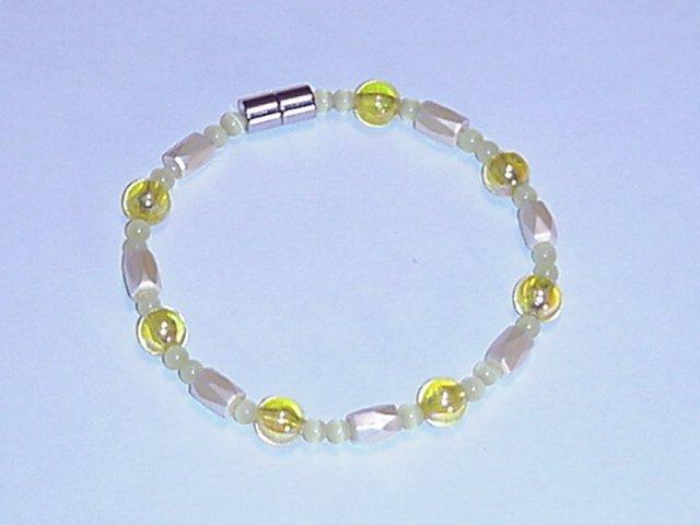 HEM20 - Magnetic Hematite - Bracelet or Anklet - 8 In