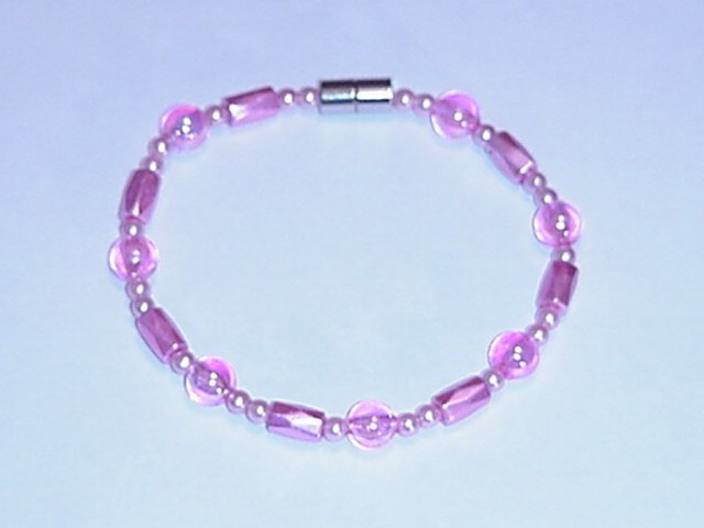 HEM22 - Magnetic Hematite - Bracelet or Anklet - 8 In