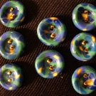 Button Set # 14 Polymer Clay Button Set of 8 - handmade from Polymer Clay by Treasure Vallie