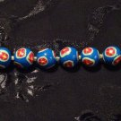 Set of 6 Beads # 1- Handmade from Polymer Clay by Treasure Vallie
