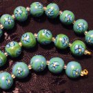 Set of 21 Beads # 17- Handmade from Polymer Clay by Treasure Vallie