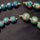 Set of 21 Beads # 21- Handmade from Polymer Clay by Treasure Vallie