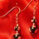 Sterling Silver Earrings # 12- Polymer Clay Beads handmade by Treasure Vallie