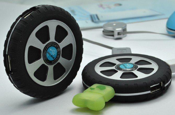 usb hub in tire shape 2.0