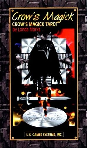 Crow's Magick Tarot HQ Card Deck With Instructions! Sealed New!