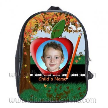 Personalized Fall Tree Backpack Small