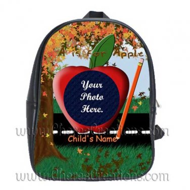 Personalized Back to School Backpack Large