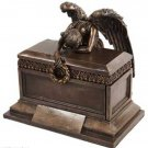 Angel of Bereavement Urn Box Burial - Animal Urn - Familiar Urn Keepsake Box