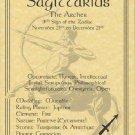 Sagittarius Zodiac Poster Parchment Horoscope Poster Sagittarius Parchment  Page