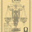 Libra  Zodiac Poster Parchment Horoscope Poster Libra Parchment Poster