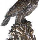 "Eagle Urn 18"" Secret Compartment Treasures or Ashes  Eagle Urn  Free Shipping"