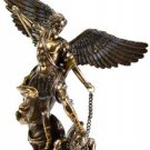 "St. Michael Bronze Statue Guardian Angel Archangels 14 "" Saint Michael"
