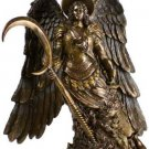 "Archangel St. Gabriel 10"" Bronze Statue Guardian Angel Archangels"