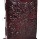 Greenman Leather Journal Blank Leather Journal  Green Man Diary, Wicca Pagan