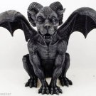Ram Horned Gargoyle  Statue Gargoyle Winged Statue Protection Medieval
