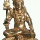 Nataraj Statue Brass Shiva  on Tiger  Hindu Deity