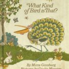 What Kind of Bird is That? Mira Ginsburg GIULIO MAESTRO