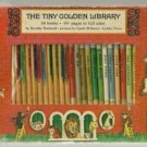 The Tiny Golden Library 24 bks LOVELY BOXED SET 1968