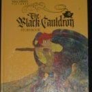 "THE BLACK CAULDRON storybook Walt Disney BIG GOLDEN ""A"""