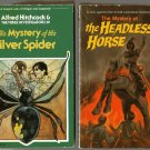 THREE INVESTIGATORS 2 sc SILVER SPIDER Headless Horse