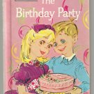 The Birthday Party WONDER EASY READER Paul Newman 1964