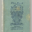 1909 BEST OF WORLD's CLASSICS Henry Cabot Lodge VOL 3