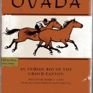 Ovada, Indian Boy of the Grand Canyon hcdj HARRY JAMES