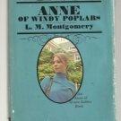 Anne of Windy Poplars MONTGOMERY hcdj 1970 Green Gables