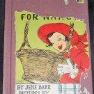 Surprise for Nancy, BARR, BENOIT, 1954, rabbit, good
