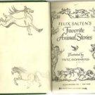 Felix Salten's Favorite Animal STories 1948