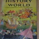 GOLDEN History of the World 1955 GIANT book DeWitt 1st