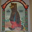 The Big Brown Bear GUSTAF TENGGREN Georges Duplaix 1947