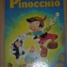 BIG GOLDEN bk VINTAGE DISNEY Pinocchio 1972