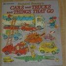 Richard Scarry's CARS TRUCKS THINGS THAT GO 1975 3rd pr