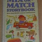 RICHARD SCARRY Mix or Match Storybook 1979 1st pr