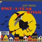 Once-a-Year Witch JUDY VARGA hcdj 1973 1st pr