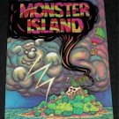 Monster Island RON VAN DER MEER 1981 POP-UP Book
