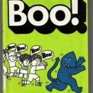 BOO! by Bernard Most hcdj 1980 1st KIDS SCARE MONSTER