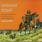 Indian Pony 1963 by Glen Dines FRONTIER WEST series