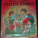 CHARLES TAZEWELL'S Littlest Stories HCDJ 1962 Angel +