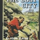 RICK BRANT The Lost City JOHN BLAINE  SCIENCE ADVENTURE