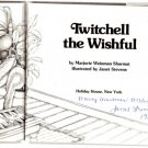 Twitchell the Wishful hcdj 1981 JANET STEVENS autograph