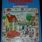 The First Thousand Words in FRENCH Usborne hc